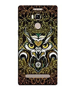 PrintVisa Designer Back Case Cover for Gionee Elife E8 (Jaipur Rajasthan Tribal Azitec Mobiles Indian Traditional Wooden)