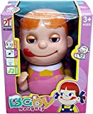 #8: Magnifico™ Naughty Baby Musical Crawling Girl Toy with Mummy Papa Saying Sound, Birthday Gift for Kids