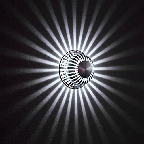 DENG Fleur du Soleil Appliques LED Moderne Abat-Jour personnalité Intérieur Chevet Éclairage Fixation Éclairage, B