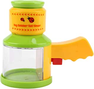 Naisidier Two Way Bug Insect Observation Viewer Kids Toy Magnifier Magnifying Glass Garden Home Kitchen