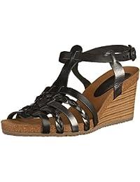 Sandalias de Mujer KICKERS 548981-50 SPAINY 81 NOIR GRIS