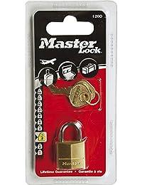 Master Lock 120EURD Cadenas laiton 20 mm