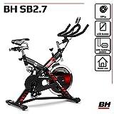BH Fitness SB 2.7 H9174F – Indoorbike/Indoorcycling - 22kg Schwunggewicht/ PoliV-Riemen/ LCD-Monitor