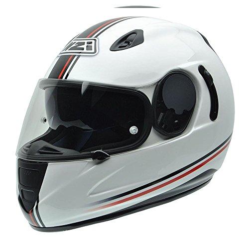 NZI 010264G729 Premium S Graphics SV Off Line Casco de Moto, Blanco,...