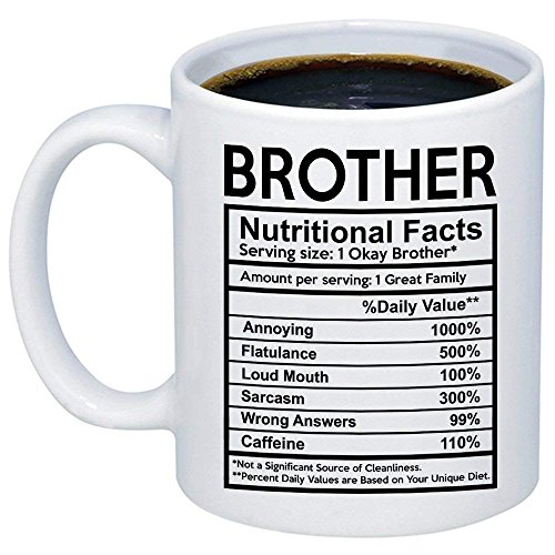 TK.DILIGARM Funny Gift for Brother - Brother Nutritional