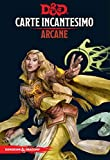 Asmodee Italia- Dungeons & Dragons-5a Edizione-Carte Incantesimo ARCANO, Colore, 4005