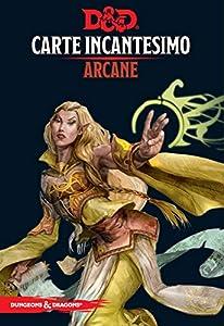 Asmodee Italia- Dungeons & Dragons-5a Edition-Carte Incantesimo Arcano, Color, 4005