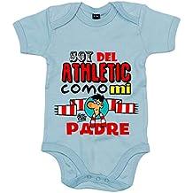 Body bebé soy del Athletic como mi padre Jorge Crespo Cano 687b404e3f023