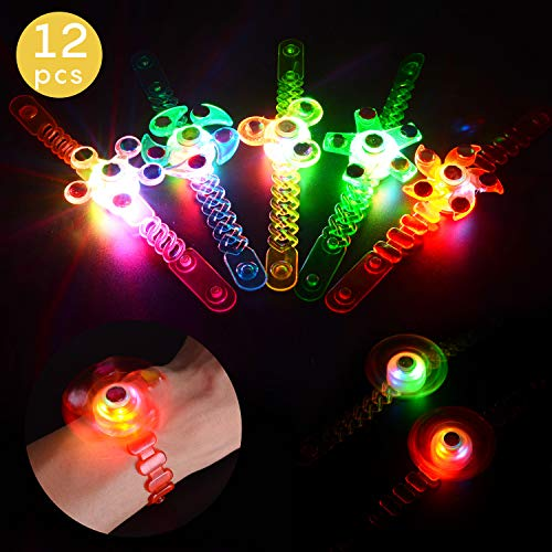 Herefun 12 Pcs LED-Leuchtspielze...