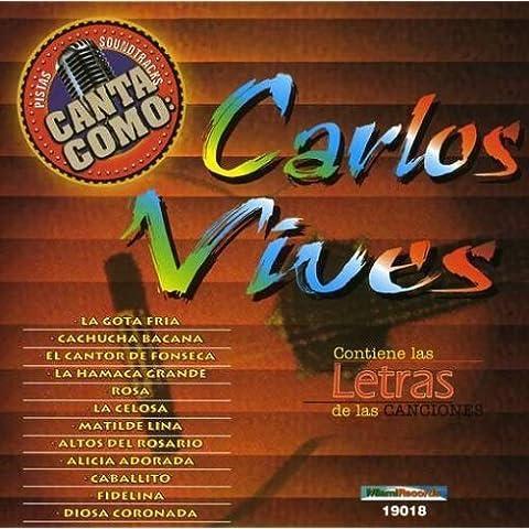 Pistas: Canta Como Carlos Vives by Grupo Mexico Lindo (2002-07-09)