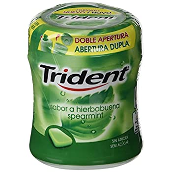 Trident Chicle Hierbabuena...