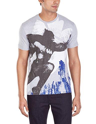 VoxPop Mens T-Shirt (8904212530428_WBBT0097MGM_S_Grey Melange)