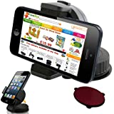 UNISUCTION UNIVERSAL 360 IN-CAR WINDSCREEN SUCTION HOLDER MOUNT FOR APPLE IPHONE 5 /