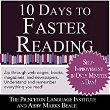 10 Days to Faster Reading: Jump-Start Your Reading Skills with Speed reading