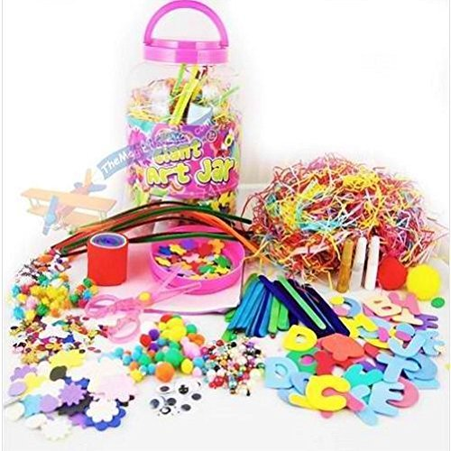 Mega Craft Jar Childrens Kids Gi...