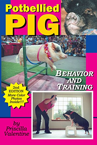 Potbellied Pig Behavior And Training: A Complete Guide For Solving Behavioral Problems In Vietnamese Potbellied Pigs por Priscilla Valentine