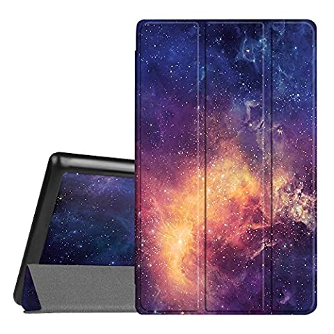 Fintie Hülle für Amazon Fire HD 8 Tablet (7. Generation - 2017) / Fire HD 8 (2016 Modell) - Ultra Slim Lightweight Schutzhülle Tasche mit Standfunktion und Auto Schlaf / Wach Funktion, Die