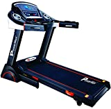 Powermax Fitness TDA-230 2HP (4HP peak) Motorized Treadmill with Auto Incline, Auto-lubrication (Warranty: Motor-3 yrs; Other parts-1yr)