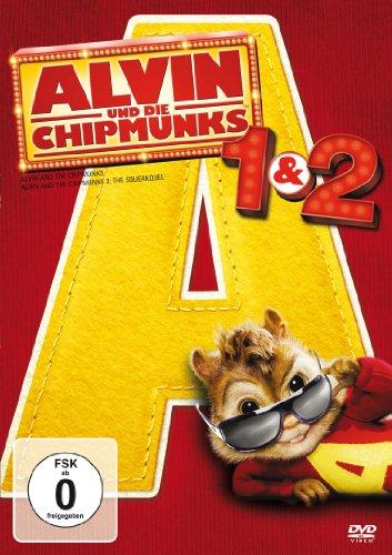 Preisvergleich Produktbild Alvin und die Chipmunks 1 & 2 [2 DVDs]