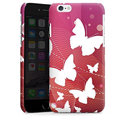 Apple iPhone 5 Housse Étui Silicone Coque Protection Papillons couleurs Ornement Cas Premium brillant