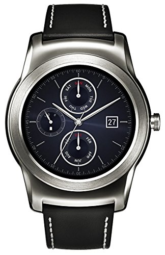 "LG G Watch Urbane - Smartwatch (pantalla 1.3"", 4 GB, 512 MB RAM, Android Wear), plateado (importado)"