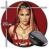 Jennifer Lopez JLo C Tapis De Souris Ronde Round Mousepad PC