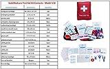 SadoMedcare 70 teiliges Erste Hilfe Set, perfekt fürs Reisen, Wandern und Camping.
