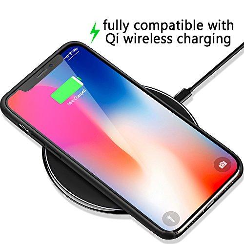 custodia iphone x ricarica wireless