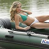HYYQG 2 + 1 Persona Kayak Inflable, Kayak De Pesca En Mar Accesorios De AleacióN De Aluminio Kit De Bomba De Aire Bolsa De Placa Inferior Bolsa