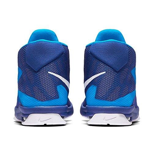Nike Herren Air Devosion (Gs) Basketballschuhe Azul (Game Royal / White-Photo Blue)