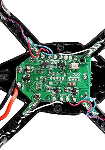 DeeRC 4 Stücke ursprüngliche echte Motoren RC Ersatzteile für Mini Drohne Quadrocopter Hubsan X4 H107 H107L HS170 (7mm x20mm) - 7