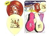 10 Just Married Hochzeits Luft-Ballon-Herzluftballons-Deko-Geschenk-Idee-Schmuck-Schmücken-Helium geeignet Sachsen-Versand Deutscher Händler