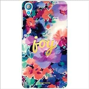 Design Worlds - HTC Desire 820Q Designer Back Cover Case - Multicolor Phone...
