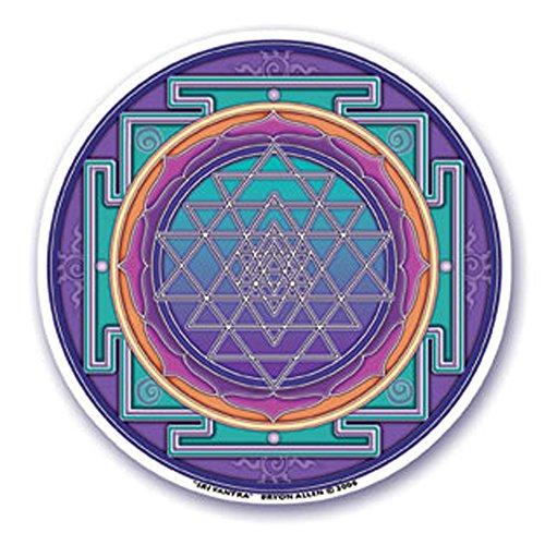 Mandala Arts Colorful Decal Window Sticker - 11.43 Cm-Doppelseitig