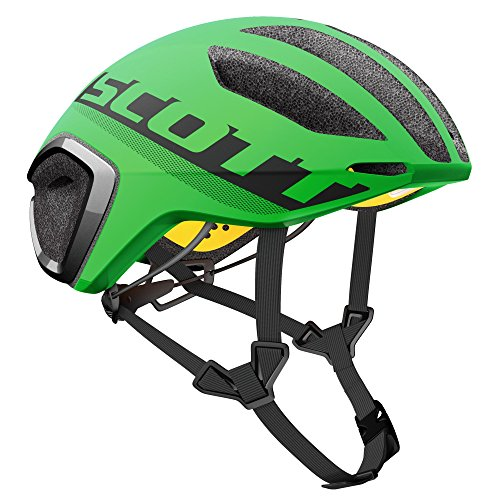 Scott Cadence Plus Triathlon Casco Bicicleta de carreras verde/negro 2017, hombre, green flash/black