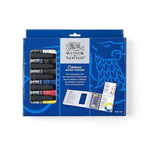 Winsor & Newton  Aquarell Farben Set mit Tipps & Tricks