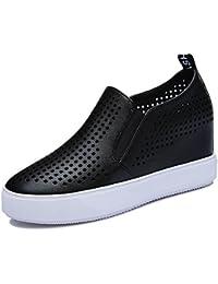 KJJDE Zapatos con Plataforma Mujeres JZTC-3053 Sandalias de Verano Transpirable Creativo Proceso Hueco Zapatos...