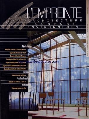 EMPREINTE (L') [No 58] du 01/01/2003