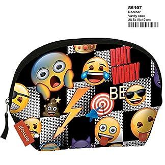 Montichelvo Montichelvo Vanity Case Em Sticker Neceser de Viaje, 29 cm, (Multicolour)