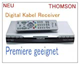 Thomson Digitaler Kabel-Receiver DCI 1500K/G mit Fernbedienung