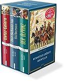 Winnetous größte Abenteuer: 3 Bände im Schmuckschuber: Unter Geiern. Der Schatz im Silbersee. Der Ölprinz