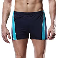 CharmLeaks Mens Swimming Shorts Swim Boxer Trunks Swimwear Beachwear Bottom
