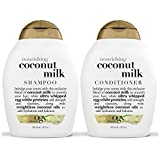 OGX Nourishing Coconut Milk Shampoo & Conditioner (13 Ounce) by OGX