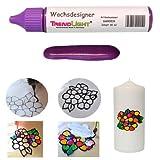 TrendLight  Wachsdesigner lila glänzend 30 ml inkl. ausführlicher Anleitung mit Bilder