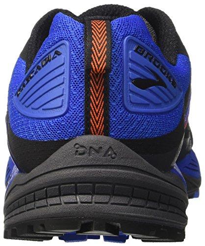 Brooks Herren Cascadia 12 Gymnastikschuhe Grau (Anthracite/electric Blue/black)
