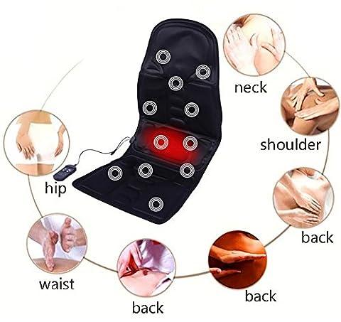 D&F SièGe De Massage Chaise Masseur De Dos , 8