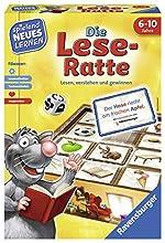 Ravensburger Italy- Spielen und Lernen Gioco educativo Die Lese-Ratte (Lingua Italiana Non Garantita), 24956