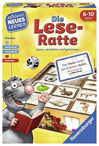 "Ravensburger Kinderspiele 24956\""Die Lese-Ratte Lernspiel"