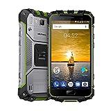IP68 entsperrt wasserdicht 4G Smartphone Fingerabdruck ID 5,0 Zoll FHD Android 7.0 Vier-Kern 13MP + 8MP Kamera Dual-SIM 4700mAh große Batteri Schnellladung NFC GPS Ulefone Outdoor-Handy für 23 Bands - Grün