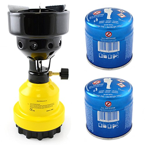 nean-camping-propan-butan-kocher-shisha-kohle-gasbrenner-anznder-2-gaskartuschen-gelb